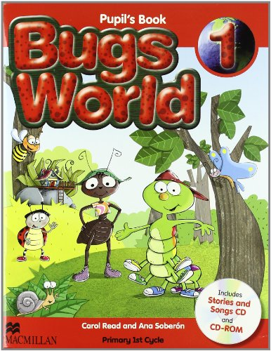 Bugs world 1 pupil's pack - 9780230407466 por Carol Read