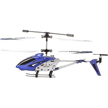 Syma S107G 3 Canali elicottero infrarossi controllata con controllo di stabilità giroscopica - Blu