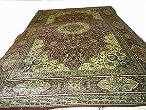 The Carpet Collective Viscose Carpet - 180 cm x 270 cm, Cream
