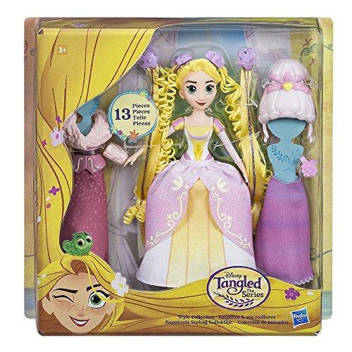 Disney Enredados - Muñeca Rapunzel Pack Colección de Peinados (Hasbro C1751EU4)