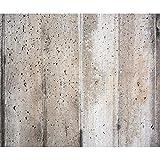 decomonkey Fototapete selbstklebend Steinwand Steine 343x256 cm XXL Selbstklebende Tapeten Wand Fototapeten Tapete Wandtapete klebend Klebefolie Grau Beige Braun