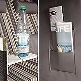 TecTake® Zweisitzer Strandkorb + Premium Schutzhülle + 2 extra Kissen - 7