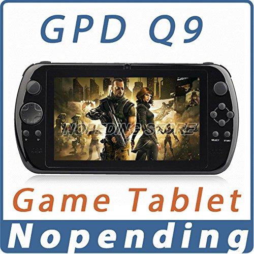 ARBUYSHOP NOUVEAU GPD Q9 GamePad Jeu Tablet PC RK3288 7 '' Android 4.4 Quad Core jeu portable Console 2 Go / 16 Go 3D Game Player 0.3MP caméra, ajouter 16 Go Carte TF