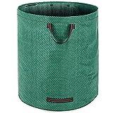 1x Gartenabfallsack Laubsack 280L | 3 Tragegriffe | 1-4er Setauswahl | doppelte Nähte | bis zu 50kg belastbar | platzsparend zusammenfaltbar | Gartensack Gartentasche