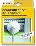 Schellenberg Sonnensensor für elektrische Gurtwickler RolloDrive 55, RolloDrive 65, RolloDrive 75 und RolloDrive 105 - Kabellänge: 0,75 m
