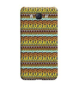 Samsung Galaxy J7-6 (2016 Edition) Back Cover designer 3D Hard Mobile Case printed Cover for Samsung j7 2016 edition by Gismo - Ethnic Pattern Print Girly