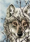 Dimensions Counted Cross Stitch Kit, Wolf
