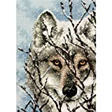 #3: Dimensions Needlecrafts Counted Cross Stitch, Wolf