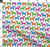 Dalapferd, Pferd, Tier, Schwedisch, Spielzeug, Orange, Blau