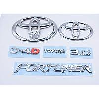DaTeen Fortuner 3.0 D-4.D Emblem/Monogram kit