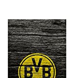 DeinDesign Samsung Galaxy S6 Edge Plus Hülle Case Handyhülle Borussia Dortmund BVB Holzoptik