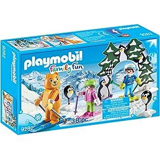 Playmobil-9282 Escuela de Esquí, única (9282)
