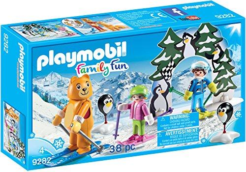 Playmobil Moniteur de Ski avec Enfants, 9282