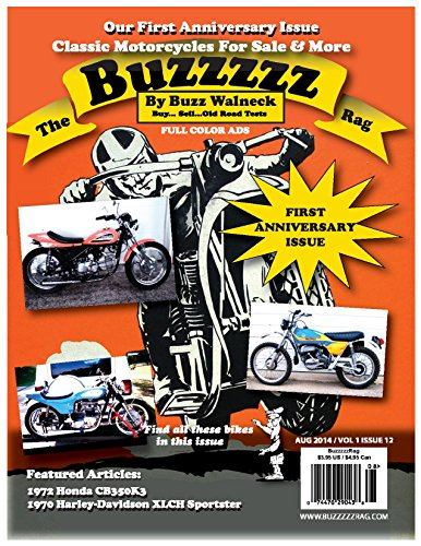 The Buzzzzz Rag: Volume 1 Issue 12 (English Edition)