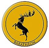 Dark Horse Deluxe Juego de Tronos parche: Baratheon