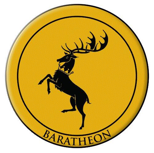 Dark Horse Deluxe Juego Tronos parche: Baratheon