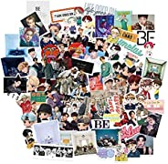 BTS Stickers Luggage Case Skateboard Guitar Laptop Cell Phone Travel Door Car Bike Bicycle Stickers (BP -76PCS