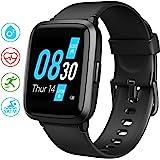 UMIDIGI UFit Smartwatch, Smart Watch Orologio Fitness Uomo Donna per Il Monitoraggio Della Salute e Dell'attività Fisica, con SpO2 e Monitoraggio Del Battito Cardiaco Compatibile con Android iOS