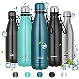 Umi. by Amazon - Borraccia Termica, 750ml Bottiglia Acqua in Acciaio Inox, Senza BPA, 24 Ore Freddo & 12 Caldo, Borracce per