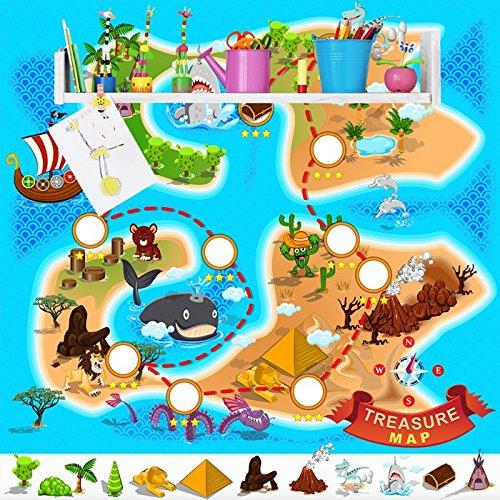 treasure-map-pirate-ship-adventure-cartoon-wall-mural-kids-photo-wallpaper-available-in-8-sizes-giga