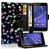 Book Style Alcatel One Touch Go Play 7048X Premium PU-Leder Tasche Flip Brieftasche Handy Hülle Kartenfächer mit Standfunktion für Alcatel One Touch Go Play 7048X - Design Flip MVX224