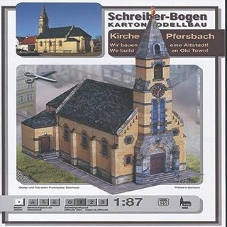Aue-Verlag 25 x 13 x 26 cm Pfersbach Old Town Church Model Kit