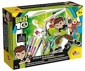 Lisciani Giochi 66018.0-Ben 10Escuela de Dibujo con rotuladores mágicos