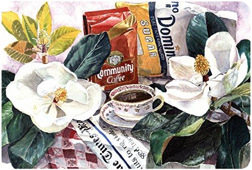 Caroline 's Treasures Maus/Hot Pad/Untersetzer, Coffee Time (1005MP)