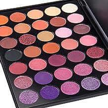 LUFA Colori di trucco dell'ombretto di colore di 35 colori Set d'imballaggio impermeabile dell'ombretto di trucco impermeabile