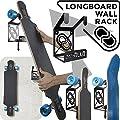 Longboard Wandhalterung (100% Stahl)