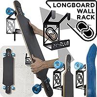 MEOLLO Soporte Colgador para Longboard (100% Acero) - Fabricado en España.