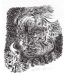 Reproduction 60 x 75cm - André Masson - 1944 autoportrait -