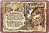 Geschenk Elektriker Blechschild 30 x 20 cm