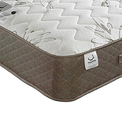 Happy Beds Stress Free 1500 Pocket Sprung Reflex Memory Foam Mattress