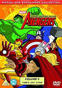 Avengers: Earth's Mightiest Heroes Volume 4 [DVD]