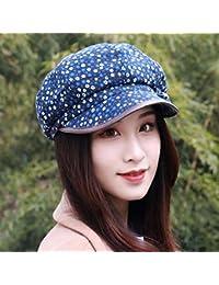 RangYR Sombrero De Mujer Sra. Cap Otoño E Invierno Gorra Octogonal  Transpirable Gorro Sombrero De c56140bcab8