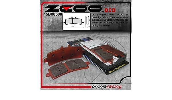 ANTERIORE 45B00500 PASTIGLIE FRENO ZCOO B005 EX DUCATI 1199 PANIGALE R 2013-2014
