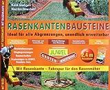 Juwel Bausteine mit Rasen-/Beetkante (à 60x9/5x13 cm) Terracotta Inhal/Pkg.: 4 Bausteine m. Rasenkante