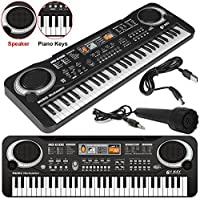 61 Keys Digital Music Electronic Keyboard Key Board Musical Electric Piano Organ By MyCamBay