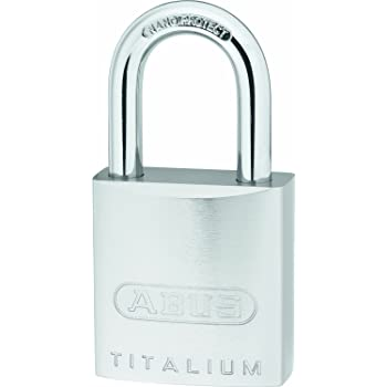 ABUS Titalium-Vorhangschloss 86TI/55 ohne Zylinder 58500