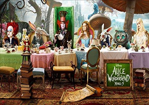 ter Alice im Wunderland Alice im Wunderland Wall 03 ()