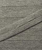 3 m Jersey Einfassband Trikot elastisch 20 mm vorgefalzt grau