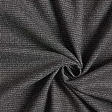 Fabulous Fabrics Anzugstoff Pepita – grau/schwarz —