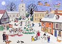 Alison Gardiner Traditional Advent Calendar: Christmas in the Village