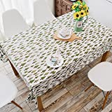 DSZQ Esszimmer Tischdecke, Sans Rincage Grid Couchtisch, Rechteckige Runde Tischdecken, Kleine Kiefer, 140 * 220 Cm Esstisch