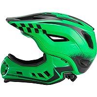 ROCKBROS Fahrrad Kinderhelm Integralhelm Downhill Helm S 48-53cm M 53-58cm für Kinder und Jugend mit Abnehmbare…