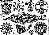 Tatouage temporaire Maori Tribal de Tattoo ID