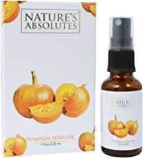 Nature's Absolutes Cold Pressed Pumpkin Seed Oil for Hair and Skin, 30ml