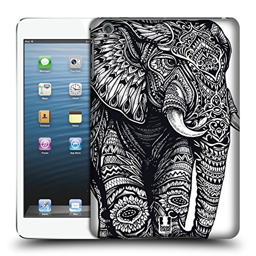 Head Case Designs Elefant Kunstvolle Tierwelt Ruckseite Hülle für Apple iPad mini 1 / 2 / - 128 Ipad Gb Cellular Mini 2