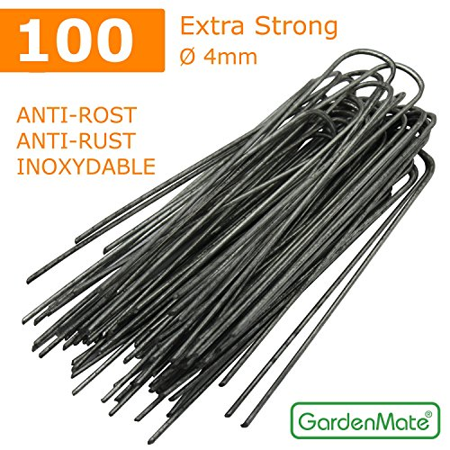 gardenmate-100x-8-200mm-38mm-thick-wiere-u-shaped-garden-securing-pegs-galvanized-ideal-for-securing